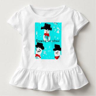 Schneemann Baby-Jersey-Bodysuit, weiß Kleinkind T-shirt