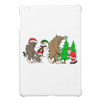 Schneemann Bigfoots Sankt iPad Mini Hülle