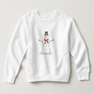 Schneemann-Kleinkind-Sweatshirt Sweatshirt