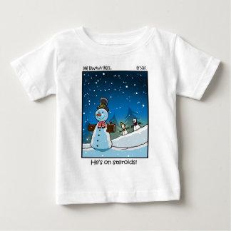 Schneemann Steriods Baby T-shirt