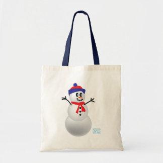 Schneemann Einkaufstaschen