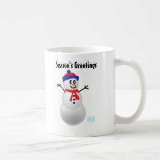 Schneemann Kaffee Tasse