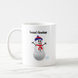 Schneemann Tasse