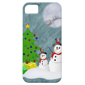 Schneemänner iPhone 5 Identifikations-Fall Hülle Fürs iPhone 5