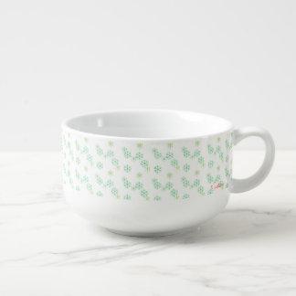 Schneemuster-Suppen-Tasse Große Suppentasse