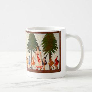 Schneewittchen und die Schale mit sieben Zwergen Kaffeetasse