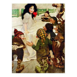 Schneewittchen und die sieben Zwerge Postkarten