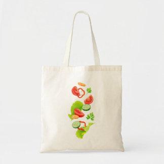 Schneiden Sie Gemüse Tragetasche