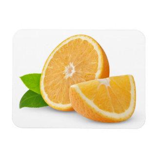Schneiden Sie Orange Vinyl Magnete
