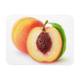 Schneiden Sie Pfirsiche Magnet