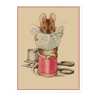 Schneider-Maus durch Beatrix Potter Postkarte