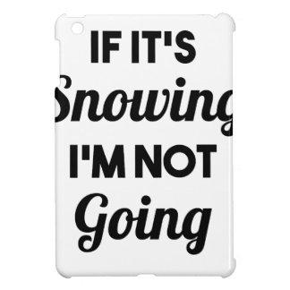 Schneiend gehe ich nicht iPad mini schale