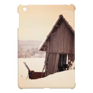 Schneiende rustikale Scheune Hüllen Für iPad Mini