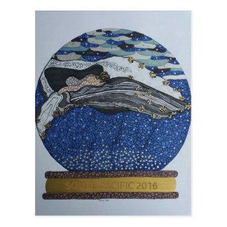 Schnekugel Postkarte