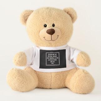 Schnelle Grüße Teddy