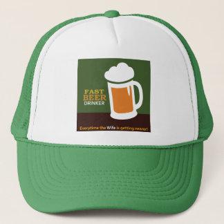 Schneller Bier-Trinker-Fernlastfahrer-Hut Truckerkappe