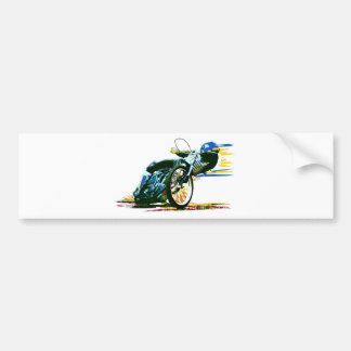 Schnelles fantastisches Speedway-Motorrad Autoaufkleber
