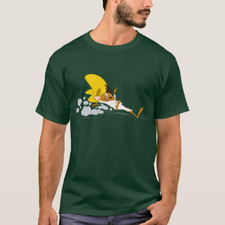 Schnelles Gonzales, das Farbe stoppt T-Shirt