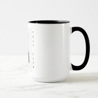 Schnellimbiß Tasse
