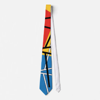 Schnitt der Linien u. der Flugzeuge - abstrakte Personalisierte Krawatten