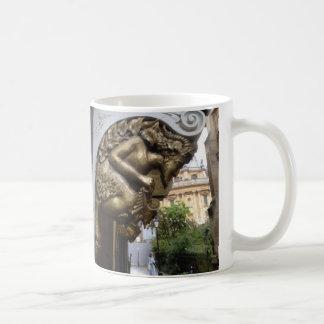 Schnitzen eines Faun, Oxford Kaffeetasse