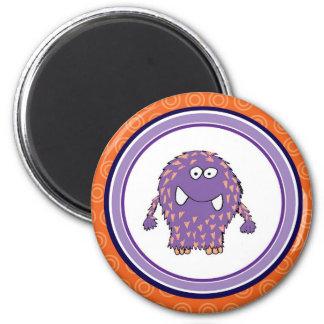 Schnitzer-Ball-Monster-Magnet Runder Magnet 5,7 Cm