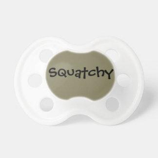 Schnuller 0-6 Monate Sasquatch themed