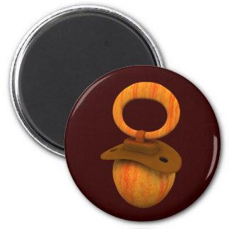Schnuller Cox Apple Runder Magnet 5,1 Cm