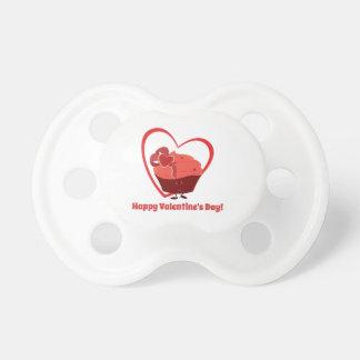 Schnuller des Valentine-Kuchen-Charakter- 