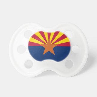 Schnuller mit Flagge von Arizona, USA