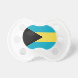 Schnuller mit Flagge von Bahamas