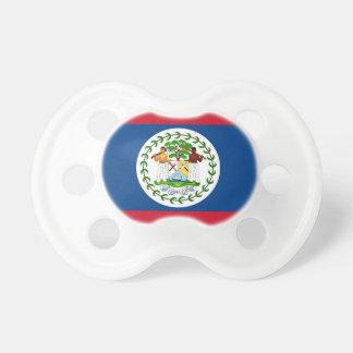 Schnuller mit Flagge von Belize