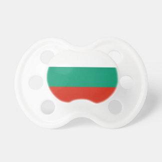 Schnuller mit Flagge von Bulgarien