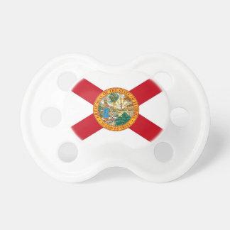 Schnuller mit Flagge von Florida, USA