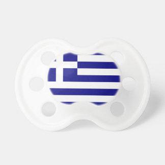 Schnuller mit Flagge von Griechenland