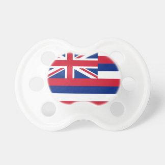 Schnuller mit Flagge von Hawaii, USA