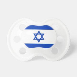 Schnuller mit Flagge von Israel