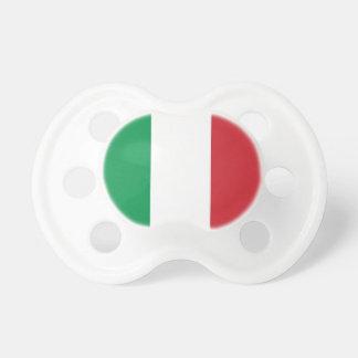 Schnuller mit Flagge von Italien