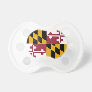 Schnuller mit Flagge von Maryland, USA
