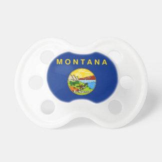 Schnuller mit Flagge von Montana, USA