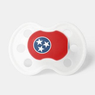 Schnuller mit Flagge von Tennessee, USA