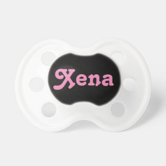 Schnuller Xena