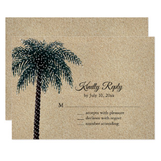 Schnur beleuchtet Palme UAWG Strand-Sand Karte