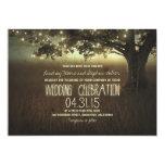 Schnur der rustikalen Hochzeitseinladung der Individuelle Einladungen