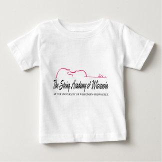 Schnur-Hochschulmoden Baby T-shirt