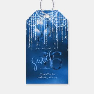Schnur-Licht-u. Ballon-Bonbon 16 DK blaues ID473 Geschenkanhänger