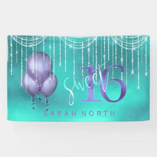 Schnur-Licht-u. Ballon-Bonbon 16 TealPurple ID473 Banner