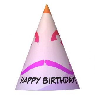Schnurrbart-Affe-Geburtstag Partyhütchen