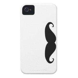 Schnurrbart-BlackBerrykasten iPhone 4 Case-Mate Hüllen