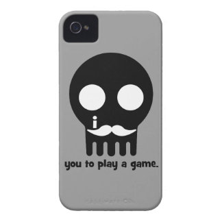 Schnurrbart Gamer Case-Mate iPhone 4 Hüllen